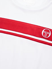 Sergio Tacchini - YOUNG LINE PRO T-SHIRT - t-shirts - white/red - 2