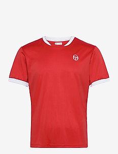 CLUB TECH T-SHIRT - topy sportowe - red/white