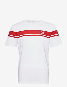 YOUNG LINE PRO T-SHIRT - urheilutopit - white/red