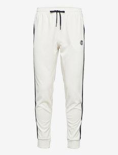 TRACK PANTS YOUNGLINE - pantalons - 121-blanc de blanc/night sky