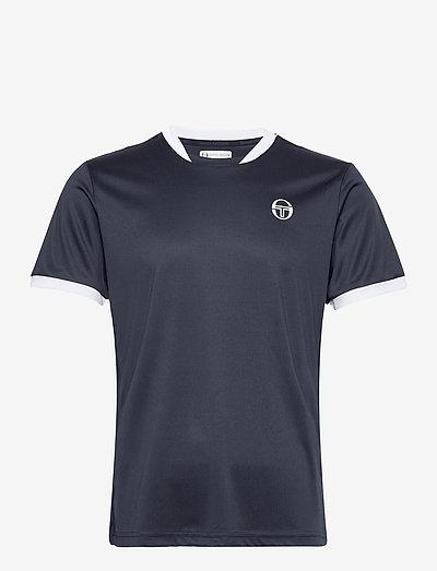 CLUB TECH T-SHIRT - t-shirts - navy/white