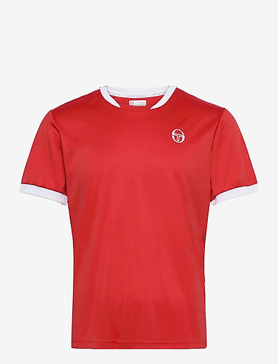CLUB TECH T-SHIRT - t-shirts - red/white