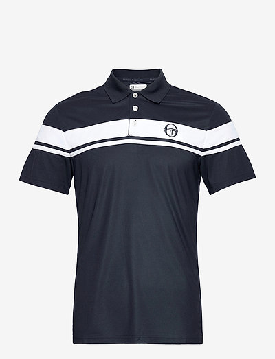 YOUNG LINE PRO POLO - kortærmede - navy/white
