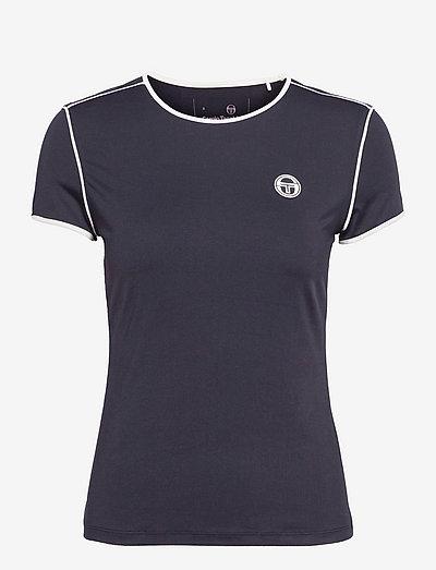 TCP TSHIRT SS WOMAN - t-shirts - 205 night sky/blanc de blanc
