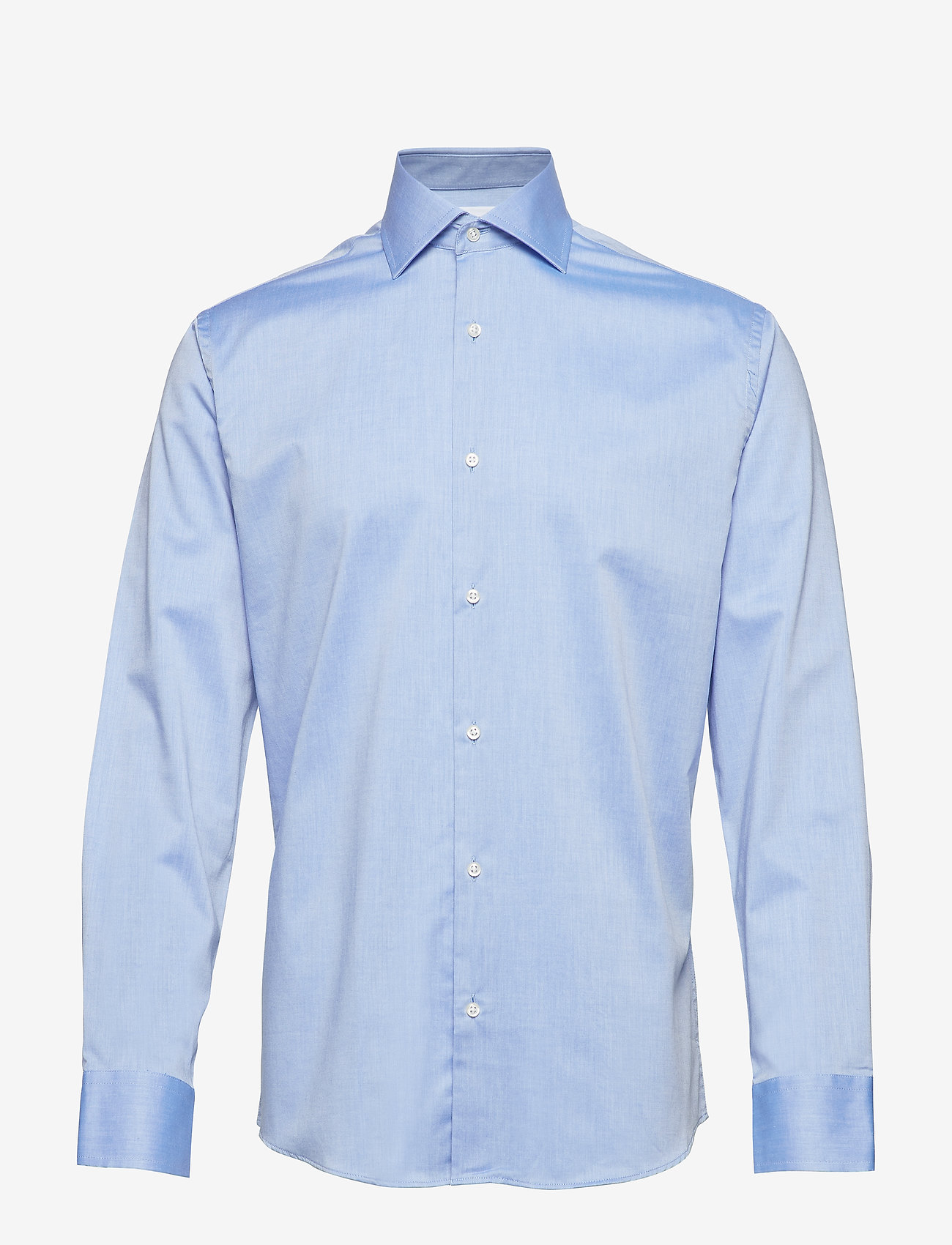 Seven Seas Copenhagen - Fine Twill - Regular Fit - basic shirts - light blue - 0