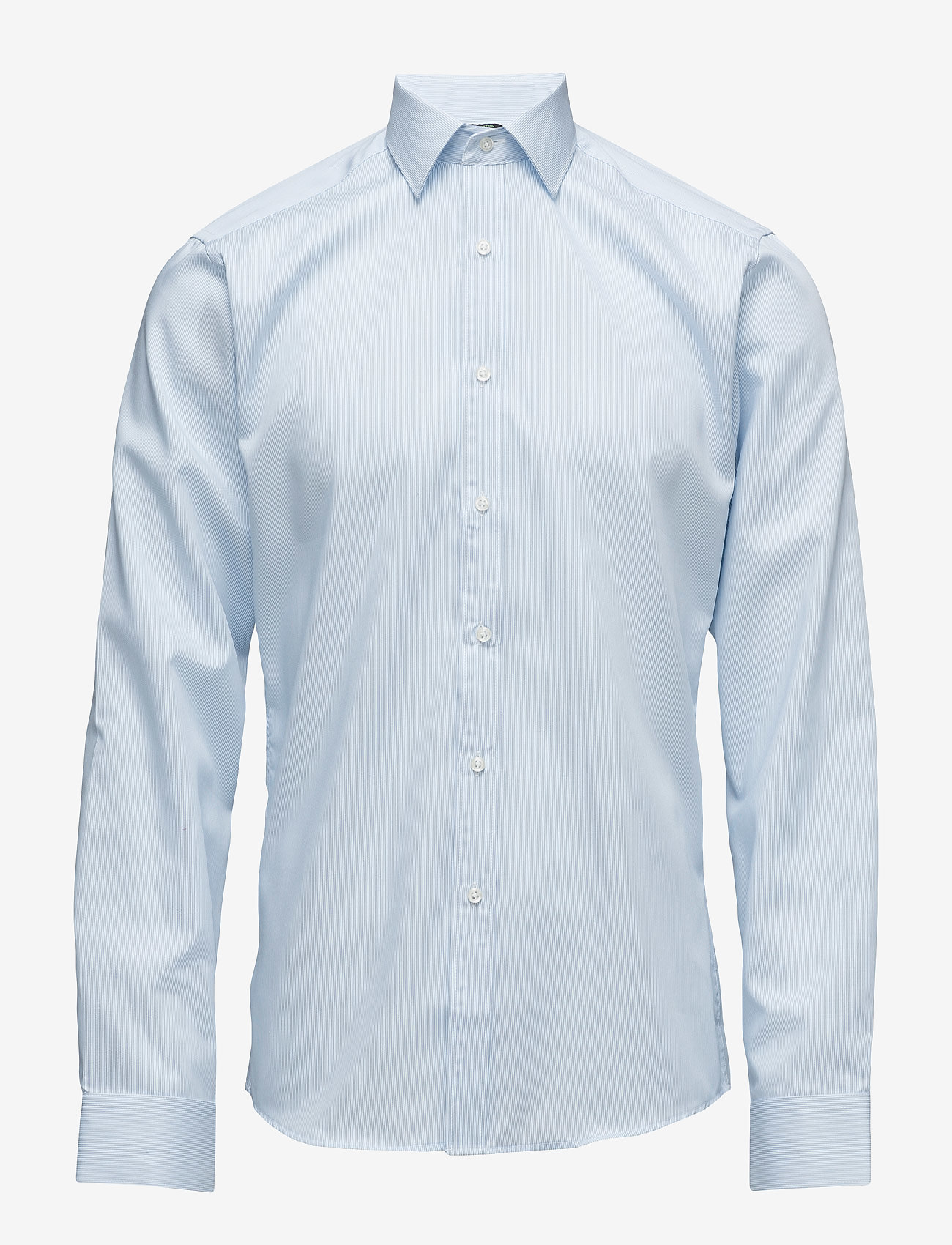Seven Seas Copenhagen - Fine Twill | California - Slim Fit - basic skjorter - light blue - 0