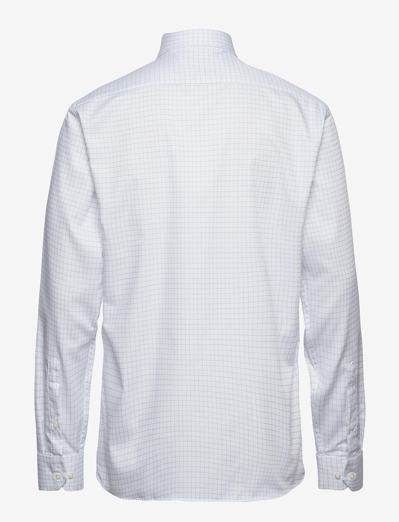 Seven Seas Copenhagen Fine Twill   Check   L/S, Modern fit - Skjorter LIGHT BLUE - Menn Klær