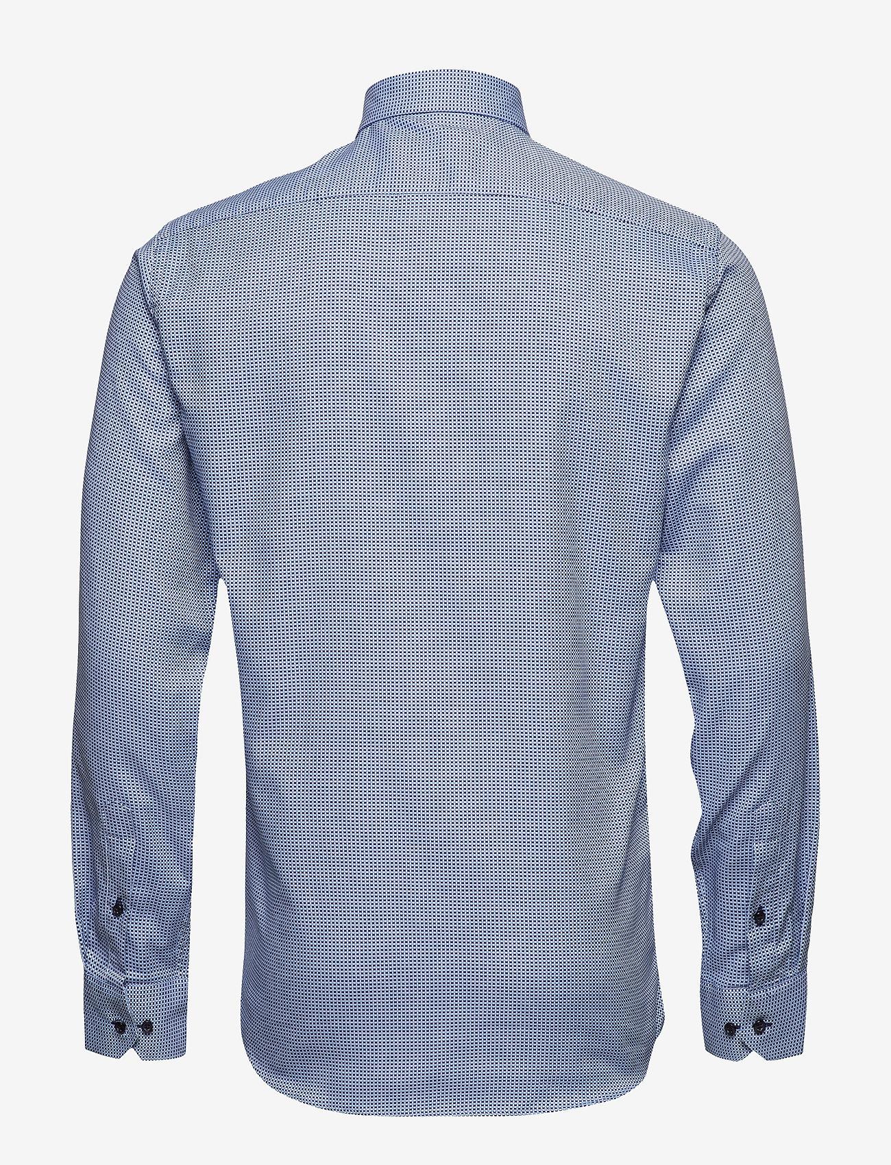 Seven Seas Copenhagen Dobby | Alonso - Slim Fit - Skjorter BLUE - Menn Klær