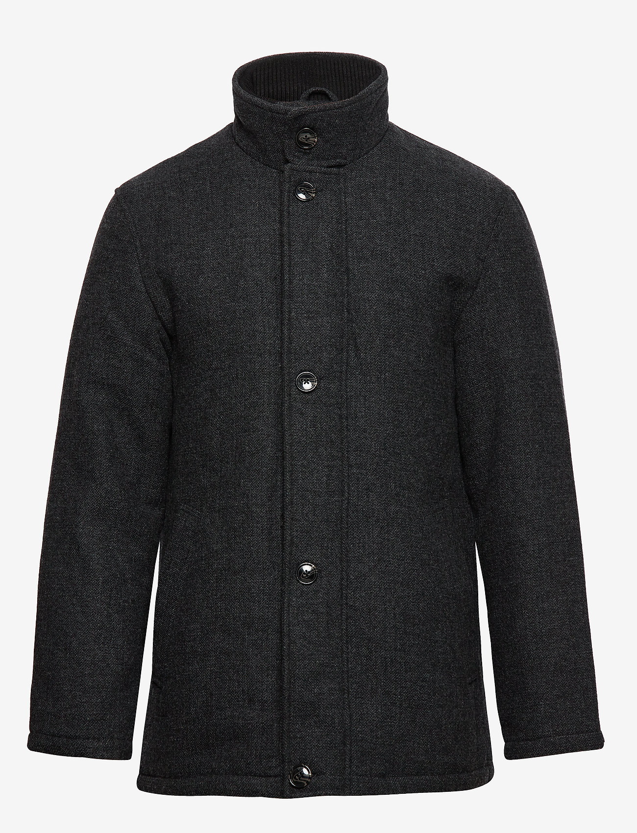 Seven Seas Copenhagen - HARRISON JACKET - wool jackets - dark grey - 1