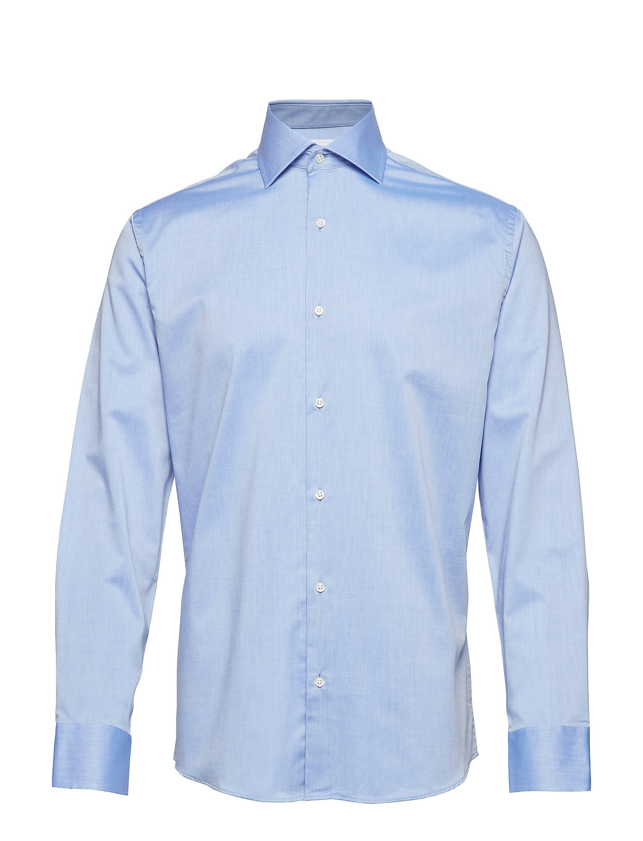 Seven Seas Copenhagen Fine Twill - Regular Fit - LIGHT BLUE