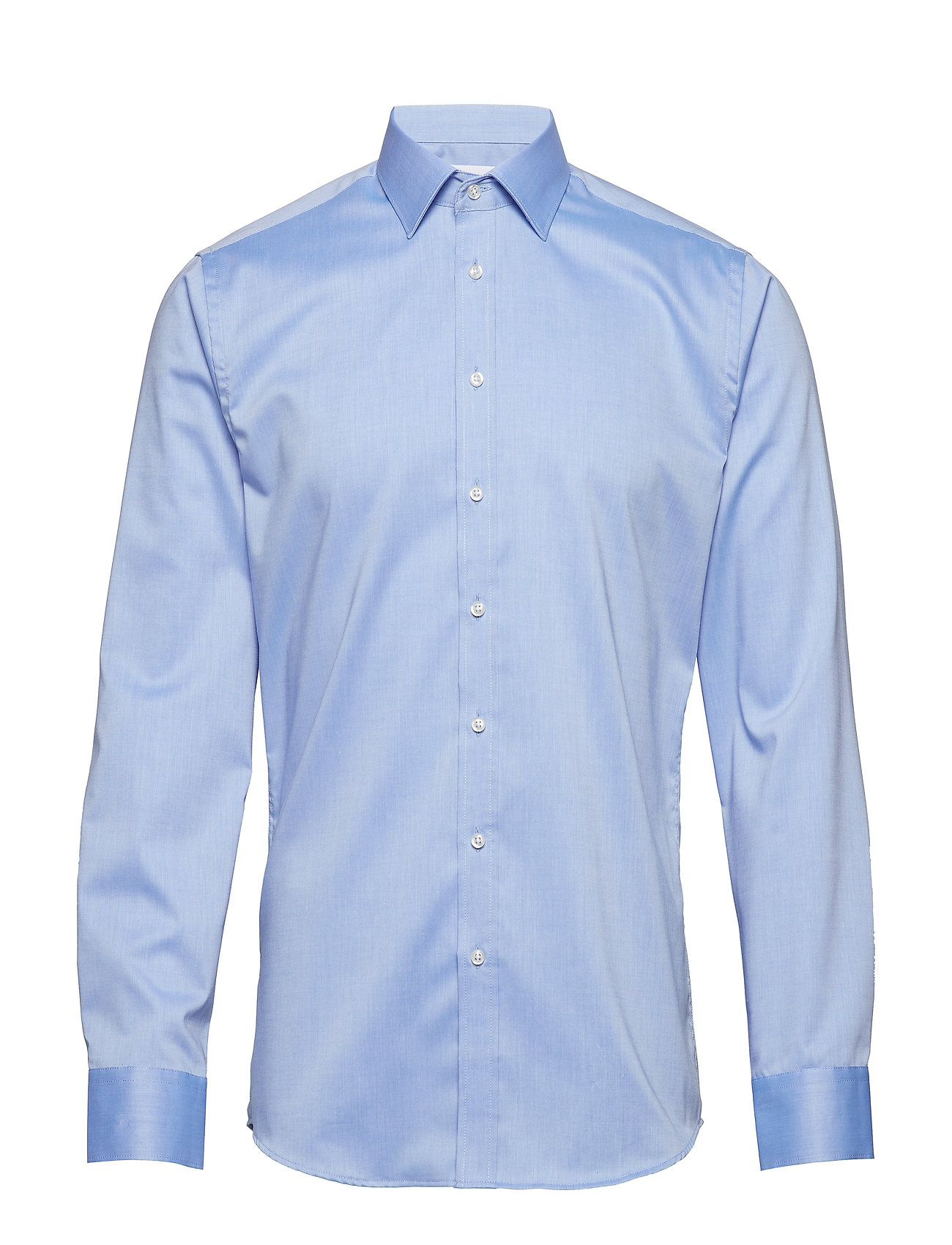 Seven Seas Copenhagen Fine Twill - Slim Fit - LIGHT BLUE