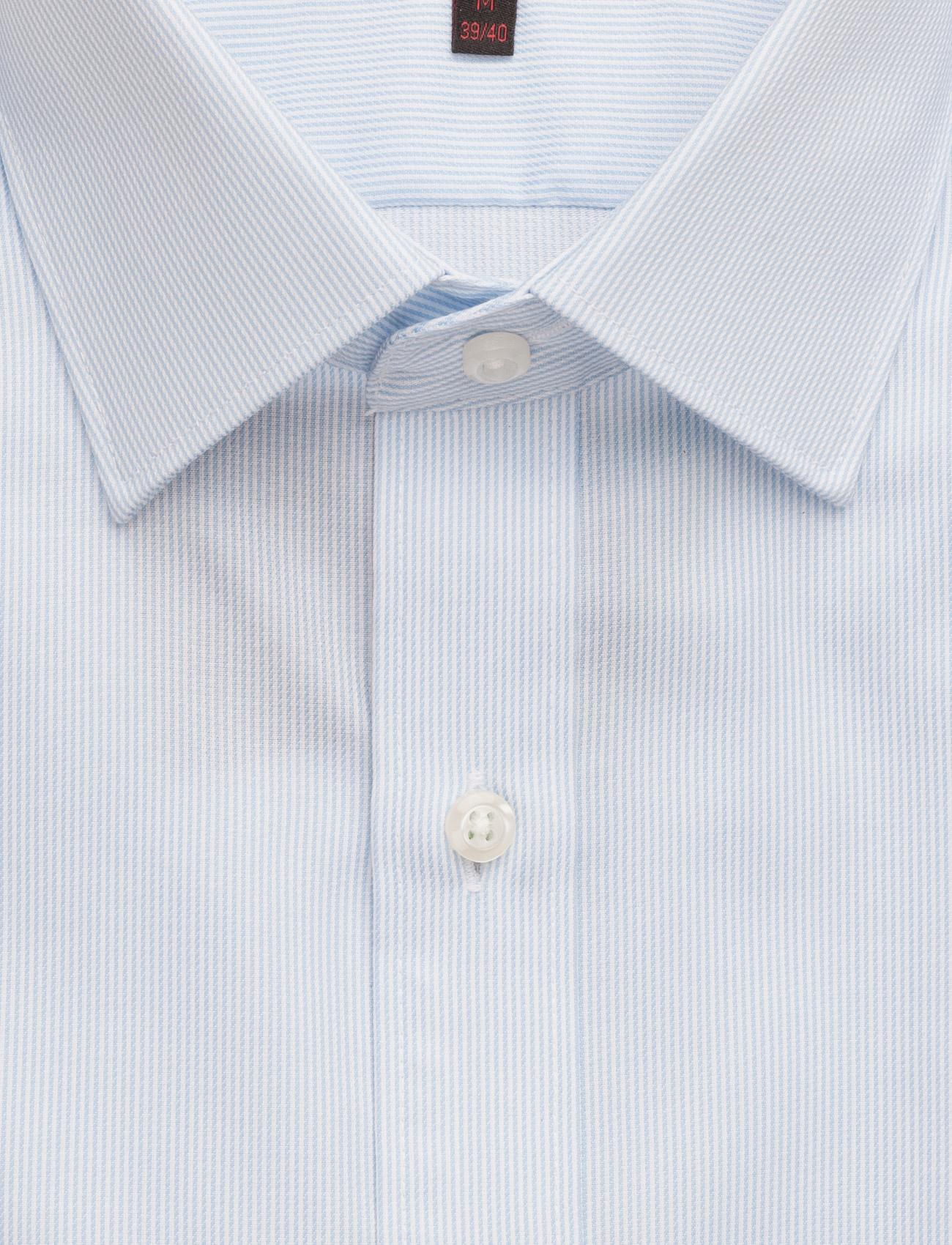 Seven Seas Copenhagen Fine Twill | California - Slim Fit - Skjorter LIGHT BLUE - Menn Klær