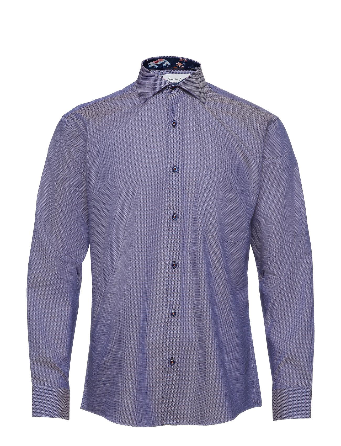 bd7c628e Seven Seas casual skjorter – Fiji til herre i Lilla - Pashion.dk