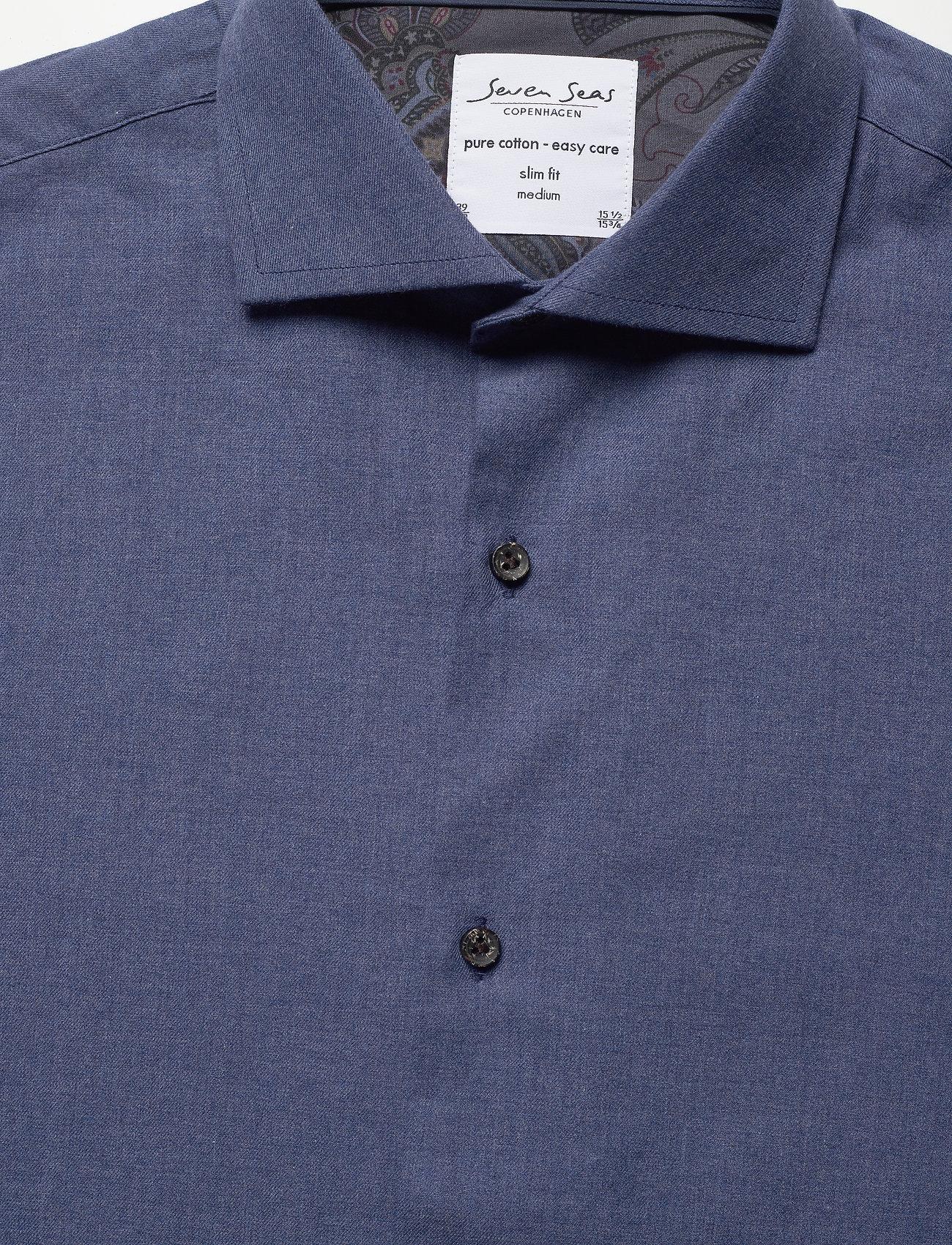 Seven Seas Copenhagen King - Skjortor Blue