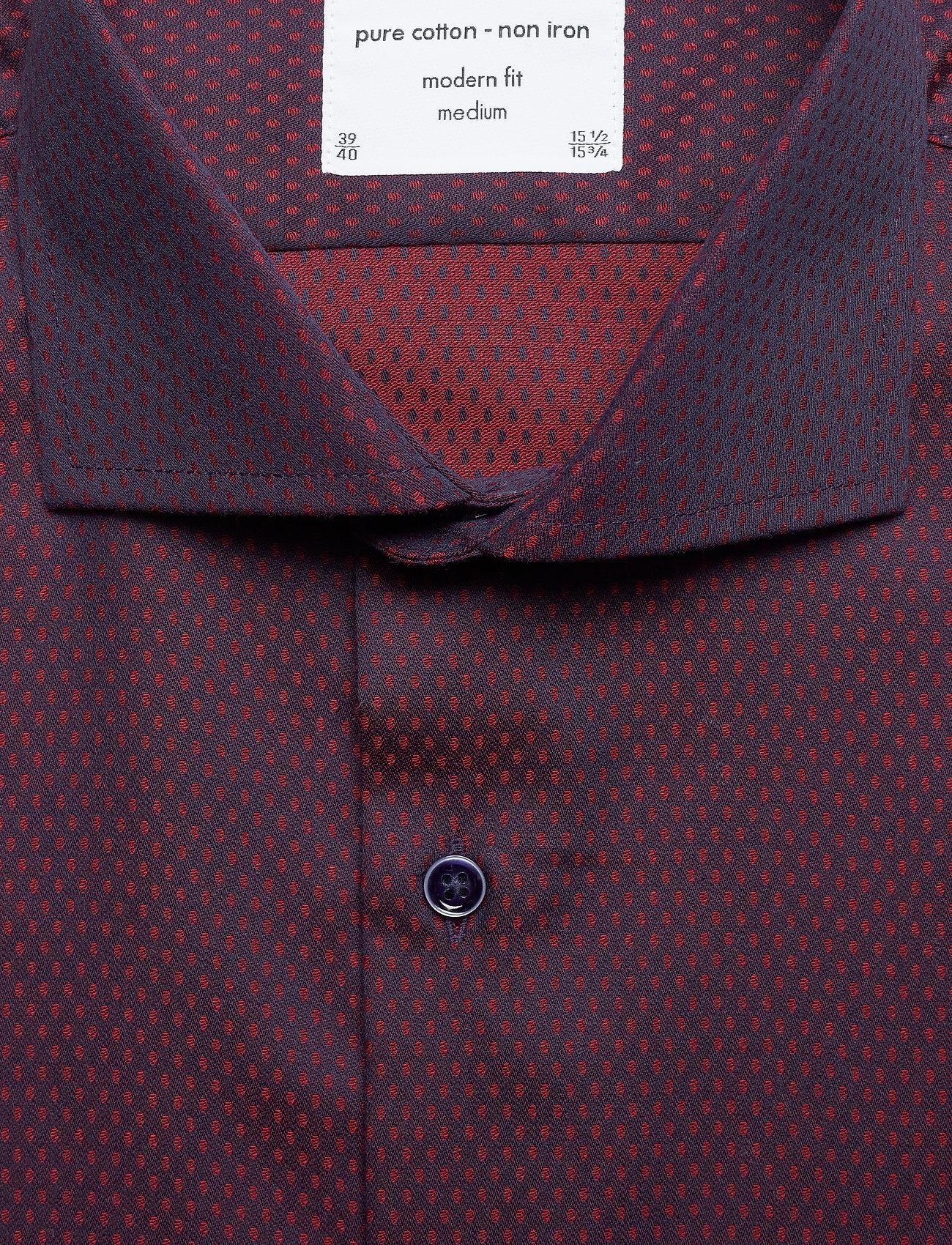 Seven Seas Copenhagen ALFA - Skjorter RED - Menn Klær