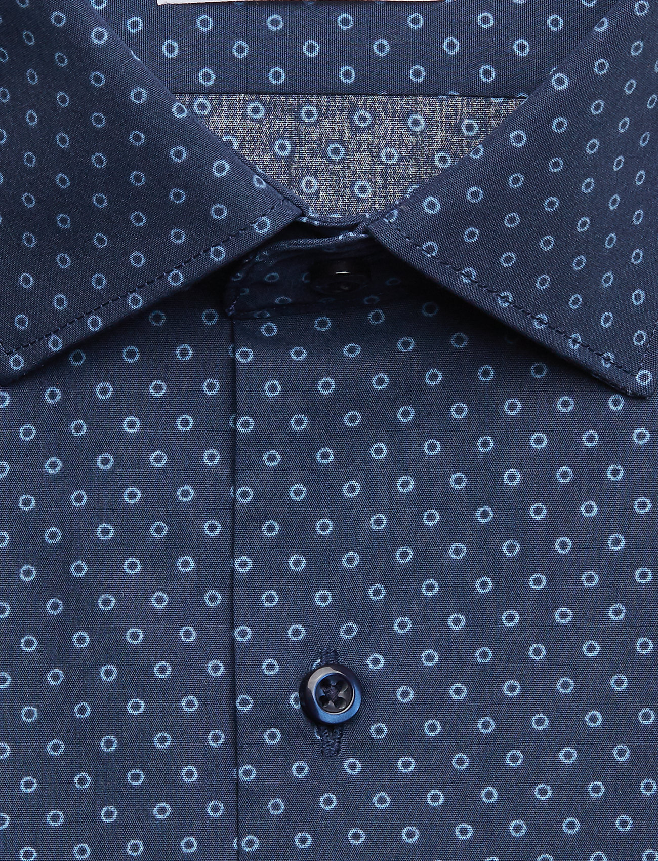 Seven Seas Copenhagen Print | Virginia - Regular Fit - Skjorter NAVY PATTERN - Menn Klær