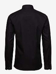 Seven Seas Copenhagen - Fine Twill - Slim Fit - basic shirts - black - 1