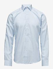 Seven Seas Copenhagen - Fine Twill | California - Slim Fit - basic shirts - light blue - 0