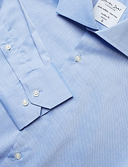 Seven Seas Copenhagen - Fine Twill - Regular Fit - basic shirts - light blue - 3