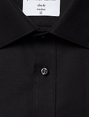 Seven Seas Copenhagen - Fine Twill - Slim Fit - basic shirts - black - 2