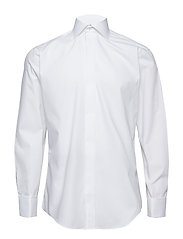 Poplin | Tuxedo - Regular Fit - WHITE