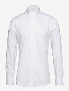 Fine Twill - Slim Fit - basic shirts - white