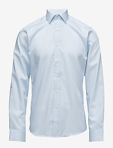 Fine Twill | California - Slim Fit - basic shirts - light blue
