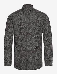 KONG - avslappede skjorter - dark grey