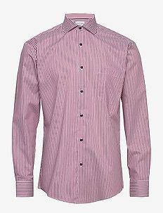 CNI KADET STRIPE - casual shirts - red