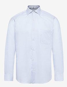 FINE TWILL W/REN - basic shirts - baby blue