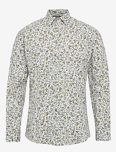 BLOSSOM - casual shirts - white