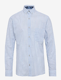 GHANDI W/LEAF - business shirts - light blue