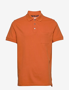 PETE - short-sleeved polos - orange