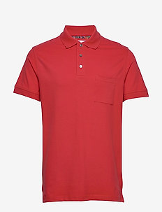 PETE - short-sleeved polos - red