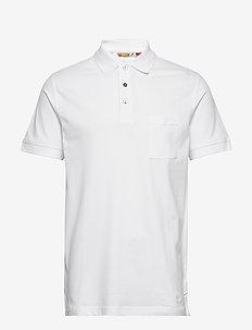 PETE - short-sleeved polos - white