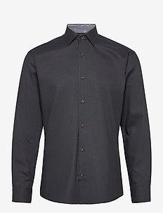 ROYAL OXFORD W/INFINITI - formele overhemden - charcoal