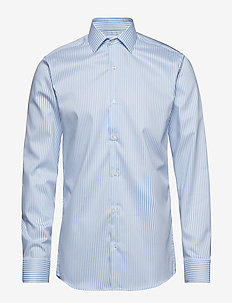 Kadet | L/S - Slim fit - basic shirts - light blue