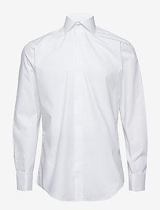Poplin | Tuxedo - Regular Fit - smokkipaidat - white