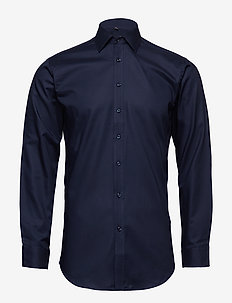 Fine Twill - Slim Fit - basic shirts - navy