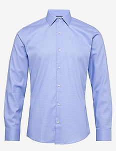 Dobby | Royal Oxford - Slim Fit - basic-hemden - light blue
