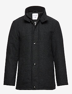 HARRISON JACKET - wool jackets - dark grey