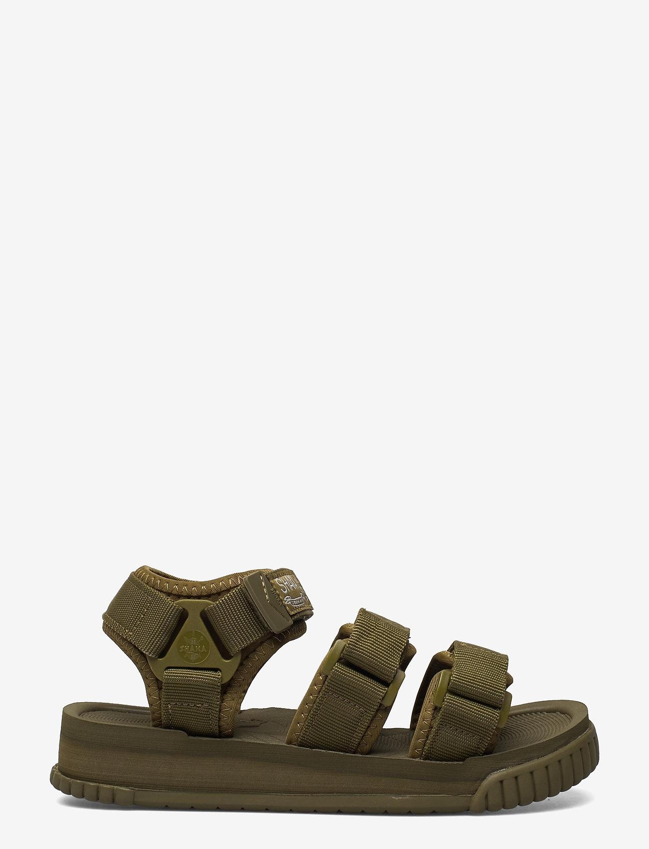 Shaka - Neo Bungy - platta sandaler - army - 1