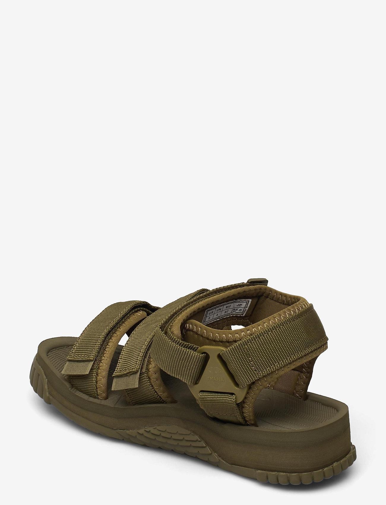 Shaka - Neo Bungy - platta sandaler - army - 2