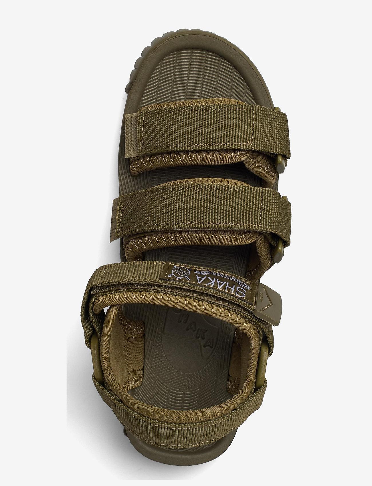 Shaka - Neo Bungy - platta sandaler - army - 3
