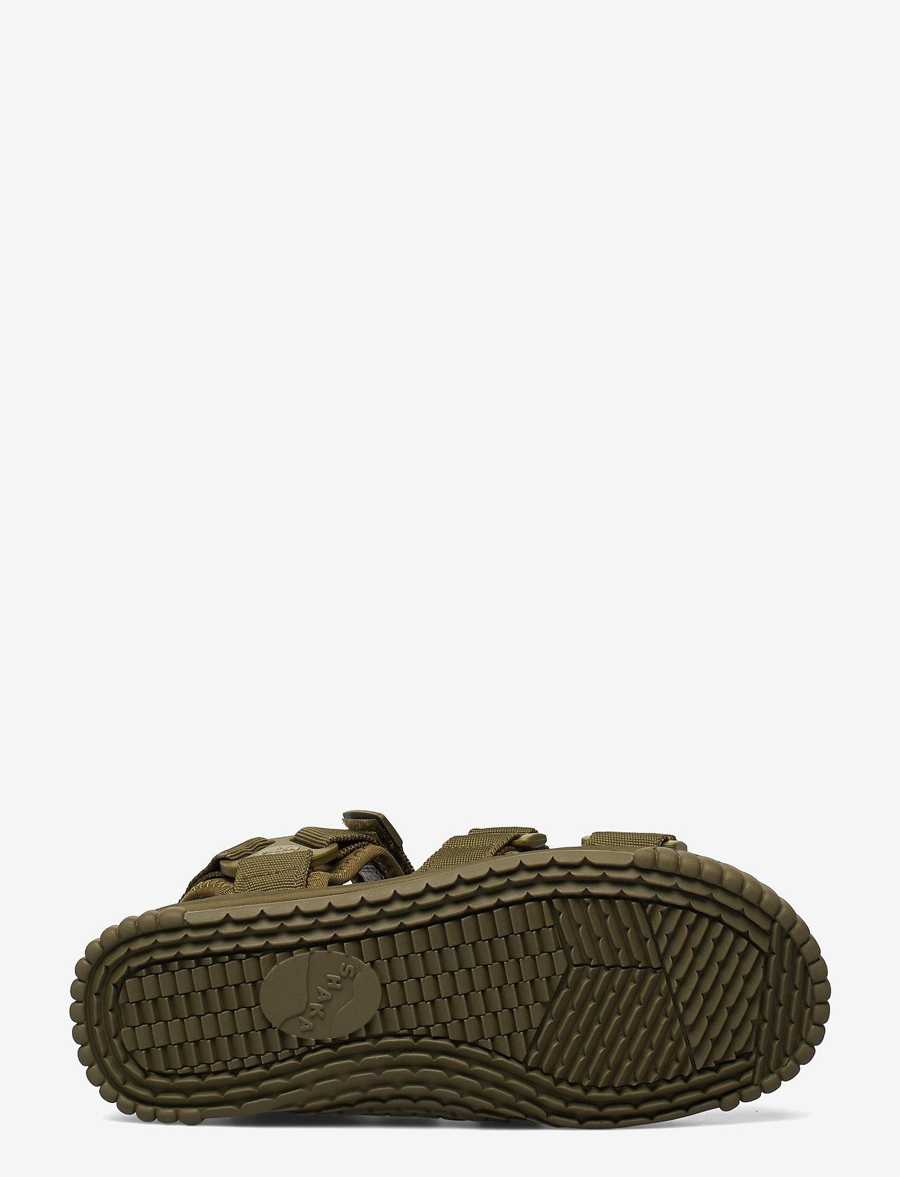 Shaka - Neo Bungy - platta sandaler - army - 4
