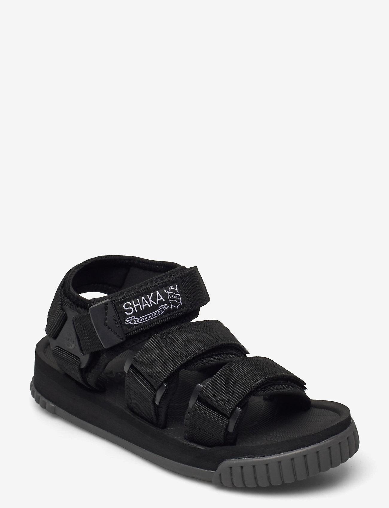 Shaka - Neo Bungy - platta sandaler - black/charcoal - 0