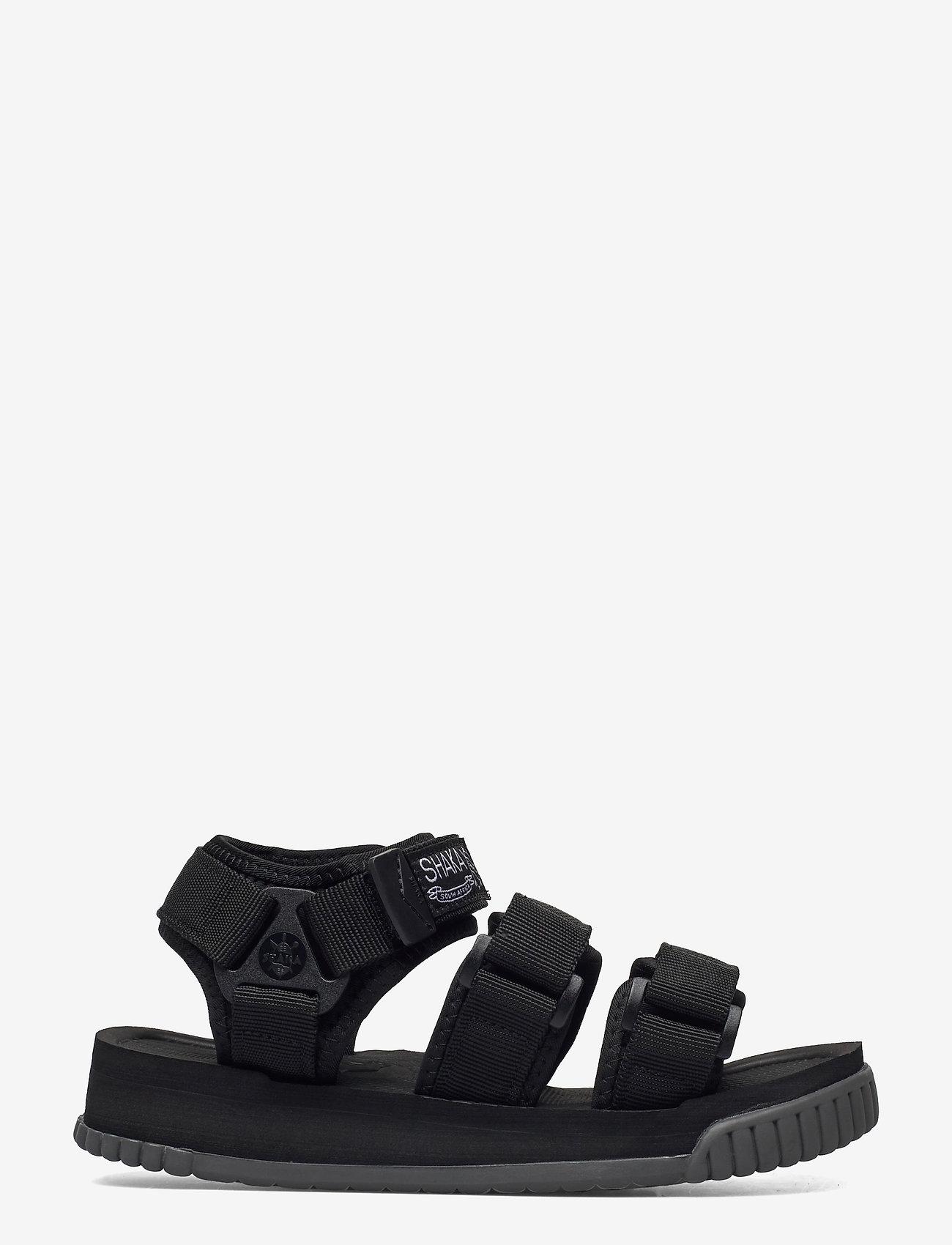 Shaka - Neo Bungy - platta sandaler - black/charcoal - 1