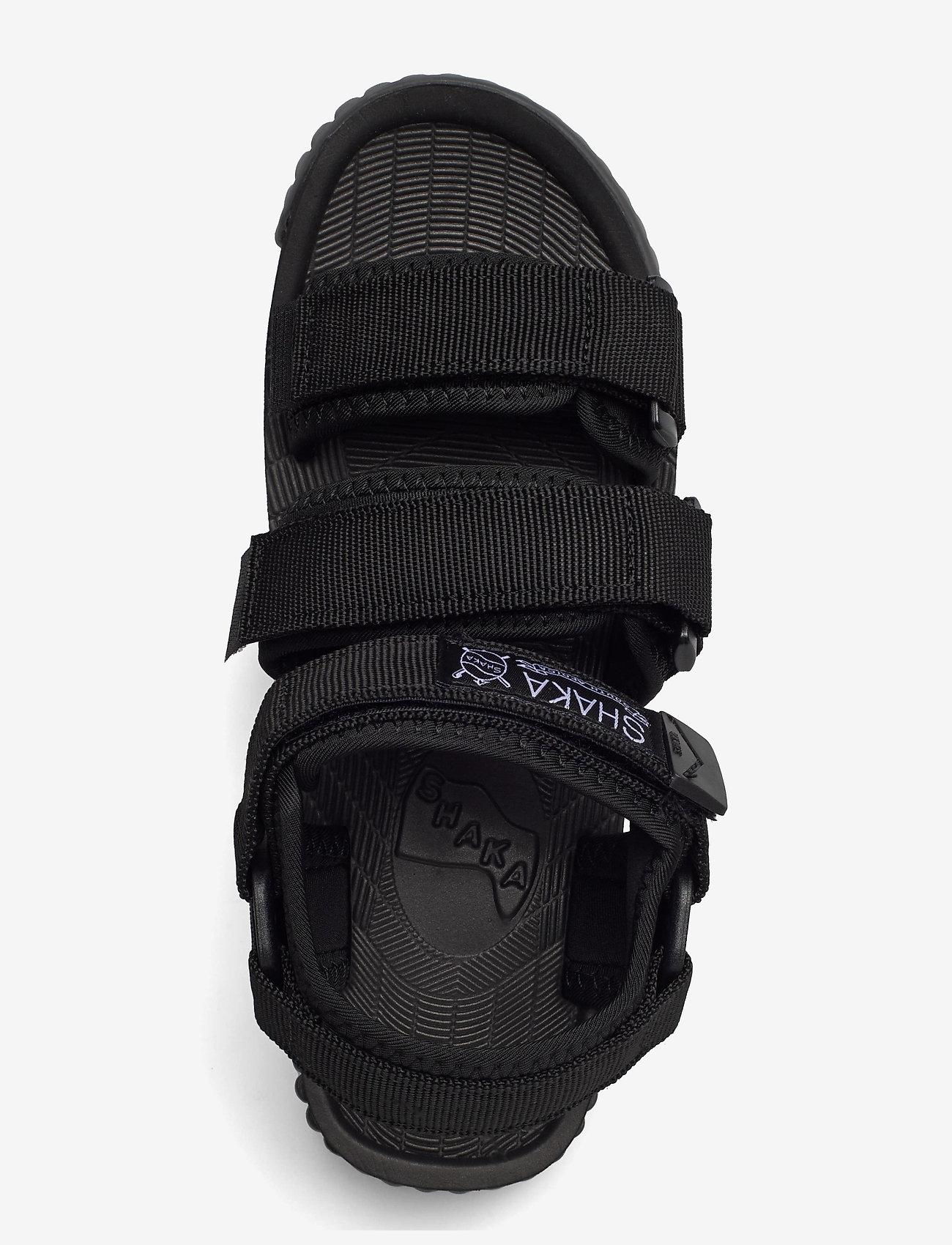 Shaka - Neo Bungy - platta sandaler - black/charcoal - 3