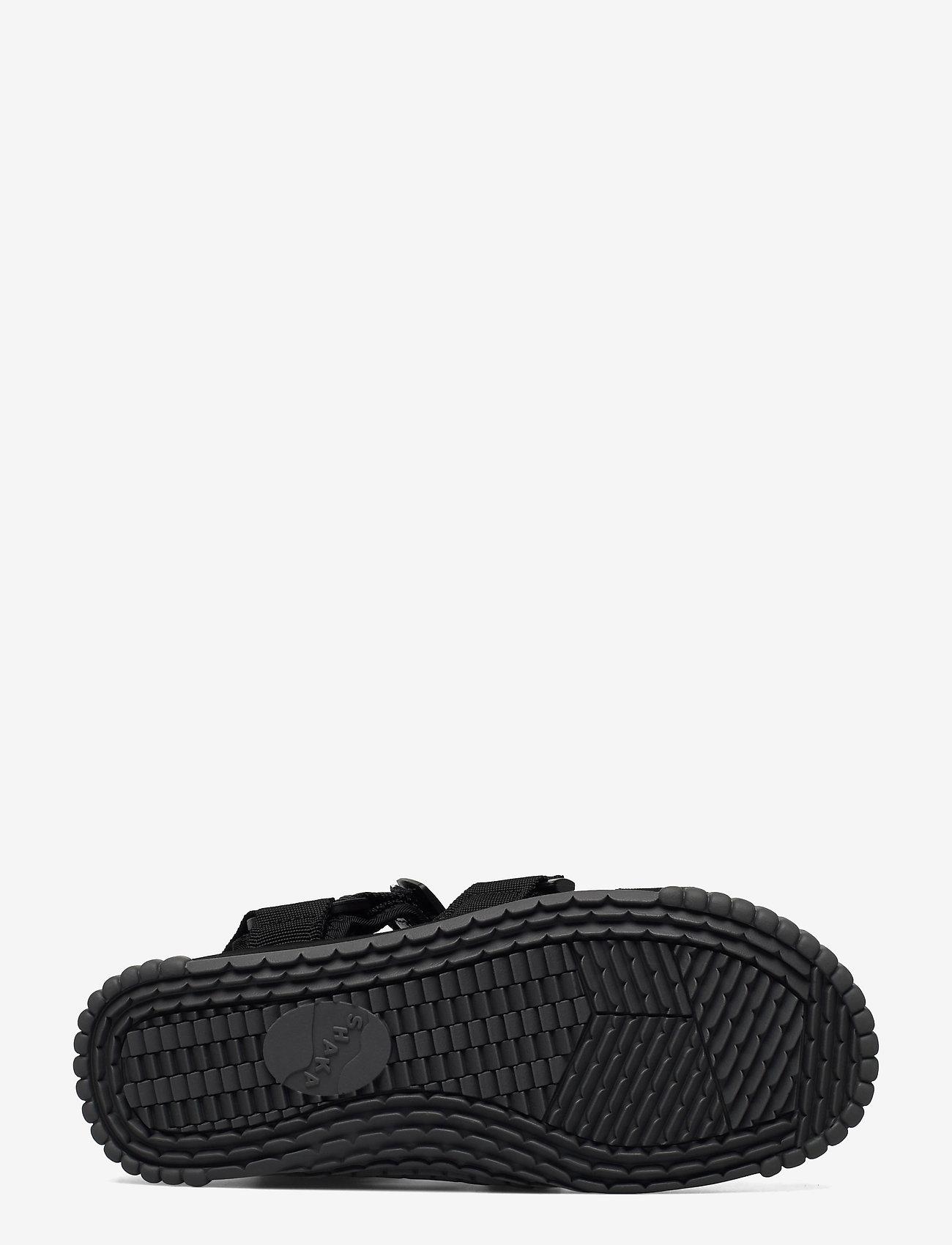 Shaka - Neo Bungy - platta sandaler - black/charcoal - 4