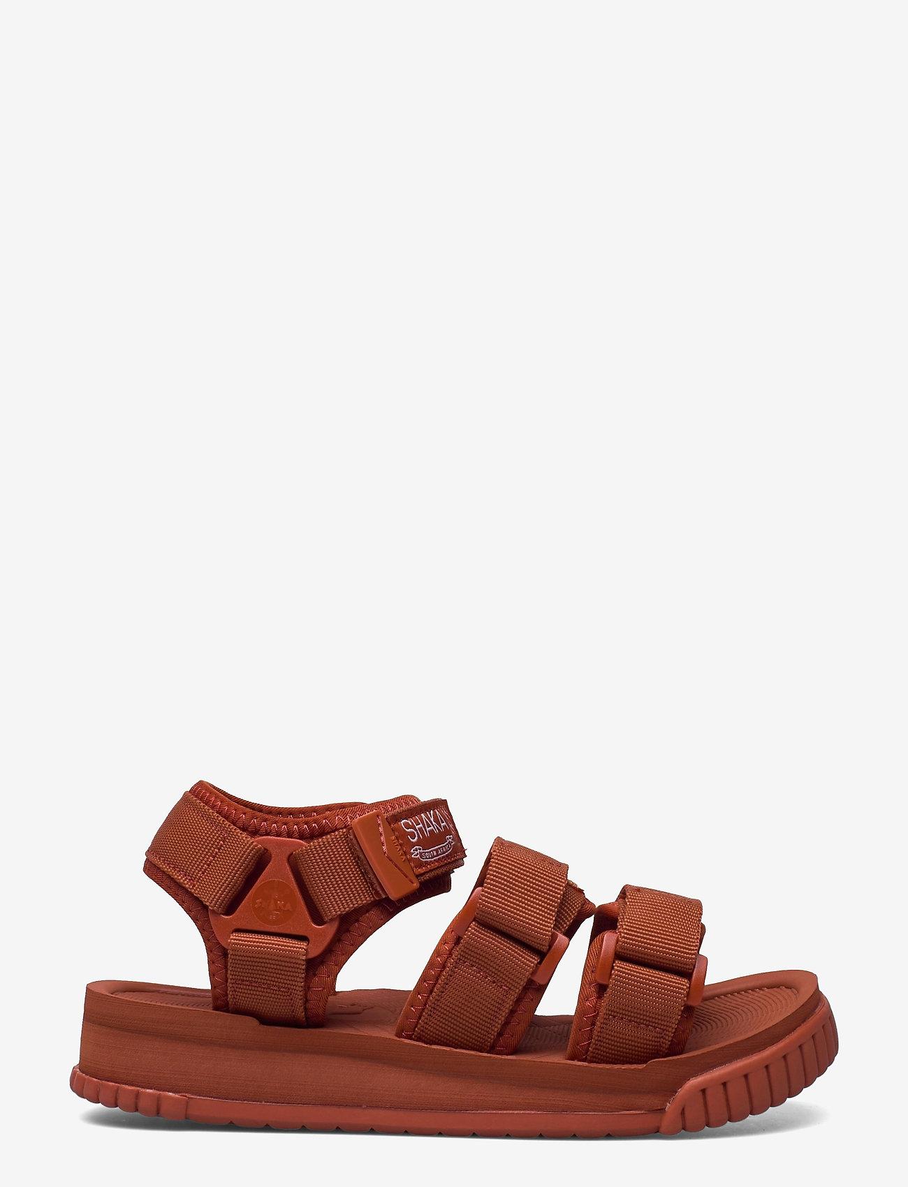 Shaka - Neo Bungy - platta sandaler - dark terracotta - 1
